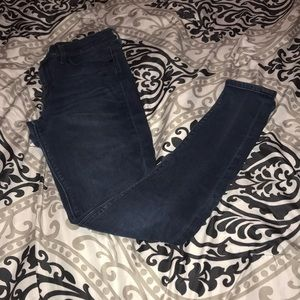 Express midrise jeans